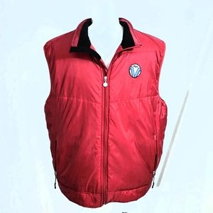 Aigle Red Insulated Puffer Men's Vest